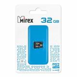 Карта памяти micro SDHC 32GB Mirex без адаптера Class4 [1?]