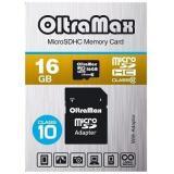 Карта памяти micro SD 16GB OltraMax Class 10 + адаптер [1]