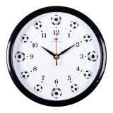 2222-110 (10) Часы настенные круг d=22см, корпус черный