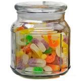 Mallony Стеклянная банка для сыпучих продуктов со стекл плоской крышкой, ARIA, объем: 0,75 л [1/36]