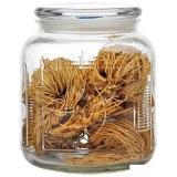 Mallony Стеклянная банка для сыпучих продуктов со стекл плоской крышкой, ARIA, объем: 2 л [1/12]