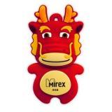 Флэш-диск Mirex 08 Gb DRAGON RED (ecopack) [1?]