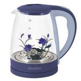 ENERGY E-287 Чайник электрический, мощность 1500Вт, Объем 2 л, (фиолетовый), стекло [1/12]