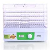Magnit RDH-2421 Сушилка для овощей, Мощность: 250 Вт, Количество секций: 5, Секция: 5л (белый) [1/4?]