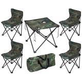 PARK Набор складной мебели (стол и четыре стула) в чехле TD-09 (камуфляж) [1/4]