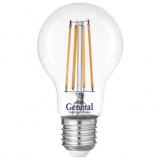 General GLDEN-A60S-15-230-E27-4500 Светодиодная лампа, Филамент прозрачный [1/10/100]