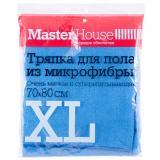 Master House Тряпка для пола из микрофибры XL 70x80см (Голубой, Зеленый, Серый) [1/25?/100?]