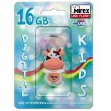 Флэш-диск Mirex 16Gb COW PEACH (ecopack) [1?]