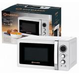 Eurostek EMO-WL13D Микроволновая печь, Мощность: 700Вт, Объем: 20л, таймер, LED дисплей, цвет - белый [1]