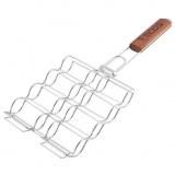 ECOS RD-674 Решетка-гриль для сосисок, колбасок, шпикачек, размер: 20*17 см [1/20]