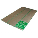 ECOS BM-08S Коврик пляжный (складывается в сумочку),  солома, цв.: зеленый, р-р: 90*180см [1/28]