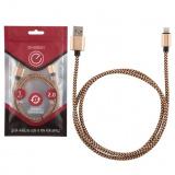 Energy ET-02 Кабель USB/Lightning, цвет - золотой [1/50]