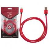 Energy ET-04 Кабель USB/Lightning, цвет - красный деним [1/50]