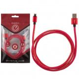 Energy ET-04 Кабель USB/MicroUSB, цвет - красный деним [1/50]
