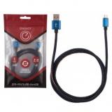 Energy ET-04 Кабель USB/MicroUSB, цвет - синий деним [1/50]