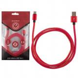 Energy ET-04 Кабель USB/Type-C, цвет - красный деним [1/50/1?]