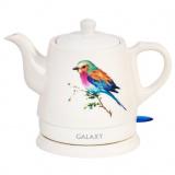 Galaxy GL 0501 Чайник электрический, Мощность 1400Вт, Объем: 1 л, керамика [1/8]