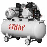 Ставр КМР-100/2200 Компрессор масляный с ременным приводом 2200 Вт/3л.с, объем 100 л, производительность 310л/мин, 8 Атм, число об двигателя 2850 [1]