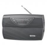 VITEK VT-3591 (GY) Радиоприемник, Настройка частоты: аналоговая, Сетевой адаптер (серый) [1/12]