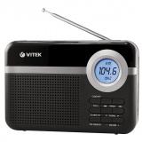 VITEK VT-3592 (BK) Радиоприемник, Настройка частоты: цифровой, Сетевой адаптер (черный) [1/12]