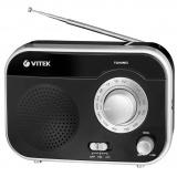 VITEK VT-3593 (BK) Радиоприемник, Настройка частоты: аналоговый, Сетевой адаптер (черный) [1/12]