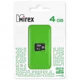 Карта памяти micro SDHC 4GB MIREX class10 [1?]