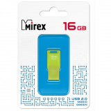 Флэш-диск Mirex 16Gb MARIO GREEN (ecopack) [1?]