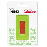Флэш-диск Mirex 32GB MARIO RED (ecopack) [1?]