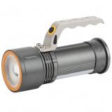 ЭРА PA-805 Фонарь прожектор алюминиевый, 5Вт, боковой светильник 3Вт, литий 2,5Ач, кор [1/10?]