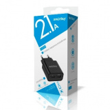 SmartBuy® FLASH, Сетевое ЗУ 2.1 А+1 А , черное, 2 USB (SBP-2010) [1]
