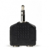 Smartbuy  Адаптер-переходник для наушников Jack 3.5 мм (M) -2х3.5 мм (F) блочный (A202) [1]