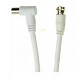 Smartbuy Антенный кабель разъемы M-M, угловой разъем, длина 5,0 м [1/25?]