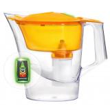"""Фильтр-кувшин Барьер """"Чемпион"""" Опти-Лайт сочный апельсин, Объём очищенной воды: 1,6 литра, объем кувшина 4 литра [1/5]"""