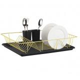 Zeidan Z-11001 черная Сушилка для посуды – размер: 480 мм x 300 мм x 100 мм), материал – высококачественная сталь [1/6]
