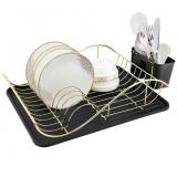 Zeidan Z-11002 черная Сушилка для посуды - размер: 490 мм x 320 мм x 130 мм), материал – высококачественная сталь [1/6]