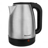 MAXWELL MW-1001 (W) Чайник электрический, Мощность: 2200Вт, Объем: 1,7л (стальной) [1/8]