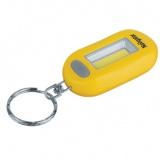 Navigator NPT-KC05-2CR2032, 14084 Фонарь брелок, пласт.1СOB LED(1Вт), 3 реж, желтый [1/60]