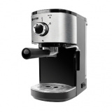 VITEK VT-1501 (SR) Кофеварка эспрессо, Мощность: 1450Вт, Объем: 1,25л, Давление: 15 бар, (серебряный) [1/2]