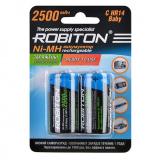 акк. Robiton  AA 2500mAh RTU Ni-MH BL2 (2/50) [2/50]