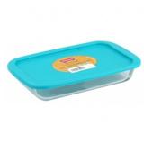 Marinex 1,6 л Прямоугольная жаропрочная форма с пластик. крышкой BPA Free (30,1 х 18,4 х 5,2 см) [1/6]