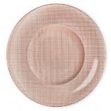 Bormioli Rocco INCA В450012 Тарелка подстановочная 31 см, розовый/медный [1/12]