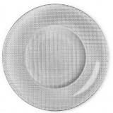 Bormioli Rocco INCA В450012 Тарелка подстановочная 31 см, серый/металлик [1/12]