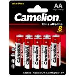 бат. Camelion LR6 Plus Alkaline BL8 [8/48/576]