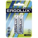 акк. Ergolux  AAA 1100mAh NiMH BL2 [2/24]