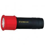 Ultraflash LED15001-A (фонарь 3XR03 светофор,  красный с черным, 9 LED, пластик, блистер) [1/6]