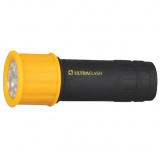 Ultraflash LED15001-B (фонарь 3XR03 светофор,  желтый с черным, 9 LED, пластик, блистер) [1/6]
