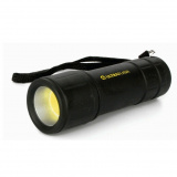 Ultraflash LED16001 (фонарь 3XR03, черный, COB LED 3Вт, пластик, блистер) [1/6]