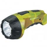 Ultraflash LED3804ML  (фонарь аккум 220В,  милитари, 4 LED, SLA, пластик, коробка) [1/5/80?]