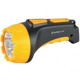 Ultraflash LED3807   (фонарь аккум 220В, черный/желтый, 7 LED, 2 режима, SLA, пластик, коробка) [1/5/60?]