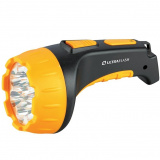 Ultraflash LED3815   (фонарь аккум 220В, черн/желт, 15 LED, 2 режима, SLA, пластик, коробка) [1/5/40?]